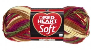 włóczka RED HEART SOFT 9938 Goulash Color