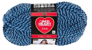 Red Heart Lisa 5679 ocean mouline