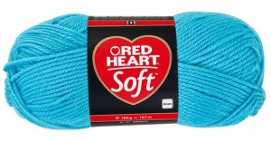 włóczka RED HEART SOFT 07 Light Blue