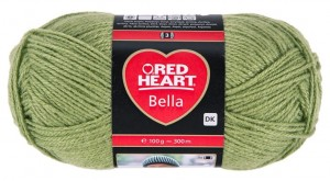 RED HEART BELLA 69 - zieleń