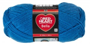 RED HEART BELLA 10-Middle Blue