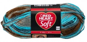 włóczka RED HEART SOFT 9935 Waterscape Color