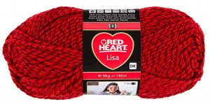 Red Heart Lisa 5680 lava mouline