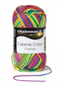 Schachenmayr CATANIA  COLOR 82  clown color