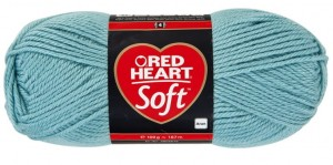 włóczka RED HEART SOFT 08 Ice Blue
