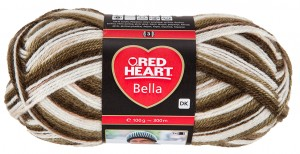 RED HEART BELLA 1006 - Savannah Color