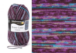 SMC BRAVO COLOR 2086 violet print