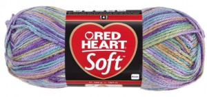 włóczka RED HEART SOFT 9941 Watercolors