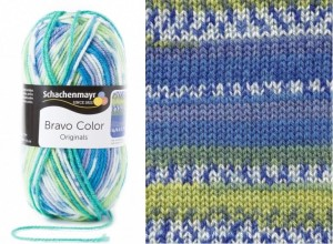 SMC BRAVO COLOR 2080 aqua jacquard color