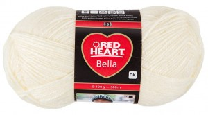 RED HEART BELLA 152 - ecru