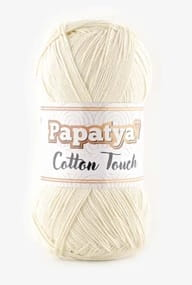 włóczka PAPATYA COTTON TOUCH  0050 natural